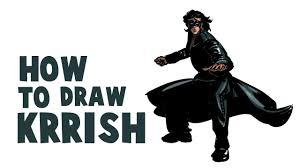 How To Draw Krrish