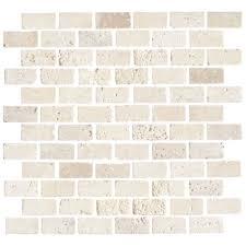 florida tile pietra travertine mosaic 1 x 2 tile colors