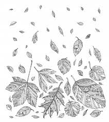 Printable Autumn Coloring Pages For Adults 1