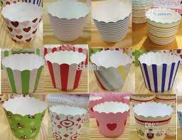 Grosshandel Runde Eimer Papier Kuchen Tassen Muffins Cupcake Cases Backen Cup Halter Von Dianz 433 Auf DeDhgateCom