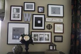 Modest Decoration Picture Wall Ideas Gallery Following Friends