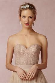 blush carina corset in bride bhldn
