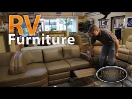 Rv Jackknife Sofa With Seat Belts by Rv Furniture Recliners Chairs Sofas Sleepers Youtube