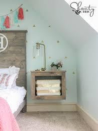 diy floating storage nightstand floating nightstand diy