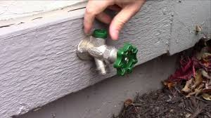 Replace Outdoor Water Spigot Handle by Prier Style Hydrant Repair Video Leaking From Vacuum Breaker