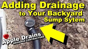 Add More Drains To Your Backyard Sump - YouTube French Drain Apple Drains Fix It Sump Pump Discharge Causes Slippery Sidewalk Water Drainage Archives South Jersey Drainage Water Solutions Omaha Ideal Renovations Full Size Of Backyard Pump Smokers For Sale Deck And Thurston County Paver And System Installation Ajb Downspout Idea Ideas Pinterest How To Install A 13 Steps With Pictures Wikihow Average Cost Page 2 Solving Problems Reflections From Wandsnider Landscape