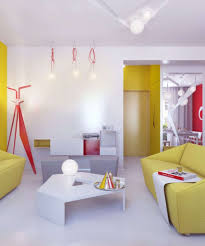 Yellow Black And Red Living Room Ideas by Living Room Cool Colorful Living Room Ideas With Black Wall And