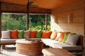 Choose Sunroom Furniture For Enliven Your Home Cozy And Throw Pillows With Oval