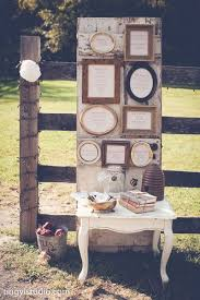 A Seating Chart In Old Mismatched Frames Then Placed On An Barn Door Adding More Decorations Around The Gave It Just Perfect Look Photography