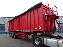 100 Semi Truck Brakes STAS S300CX 3 Axle SAF Disk 2013 Tipper Semitrailers For