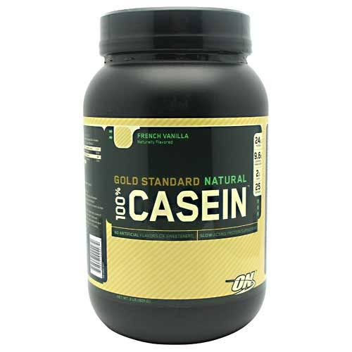 Optimum Nutrition 100% Casein Protein Supplement - French Vanilla, 2lb