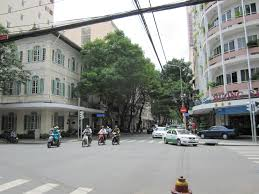 Top Rue Catinat In The 1950s Courtesy Of Saigon Vietnam