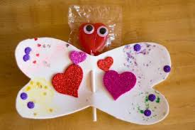 Butterfly Lollipop Valentines Craft For Kids