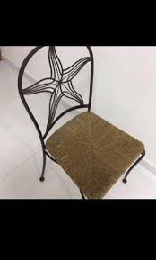 Wrought Iron Dining Chair With Rattan Pad Outdoor, Furniture ... 9363 China 2017 New Style Black Color Outdoor Rattan Ding Outdoor Ding Chair Wicked Hbsch Rattan Chair W Armrest Cushion With Cover For Bohobistro Ica White Huma Armchair Expormim White Open Weave Teak Suma With Arms Natural Hot Item Rio Modern Comfortable Patio Hand Woven Sidney Bistro Synthetic Fniture Set Of Eight Chairs By Brge Mogsen At 1stdibs Wicker Derektime Design Great Ideas Warm Rest Nature