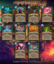 hearthstone secret cheat sheets hearthstone top decks