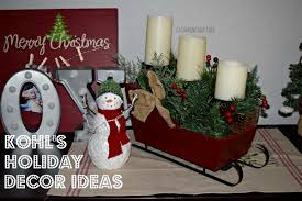 Kohls Christmas Tree Lights by Casa Moncada Kohl U0027s Holiday Decor Casa Moncada