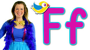 The Letter F Song Learn The Alphabet YouTube