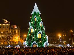 What Is The Best Christmas Tree Food by Where To See The World U0027s Best Christmas Lights Photos Condé