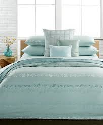 Klein Bedding Poppy Queen Duvet Cover Set Covers Bed Within Calvin