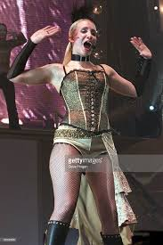 British Pop Star Claire Richards Of The Group Steps Performs On Stage For Their Gold Greatest Hits Show At Wembley Arena December 22 20