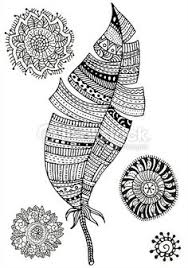 Stock Vector Of Pattern For Coloring Book Feather And Mandalas Art By Elfiny From The Collection IStock Get Affordable At Thinkstock