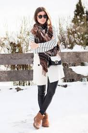 Winter Outfit With Uggs Boots