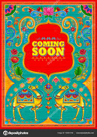 100 Truck Art Colorful Coming Soon Banner In Truck Art Kitsch Style Of India