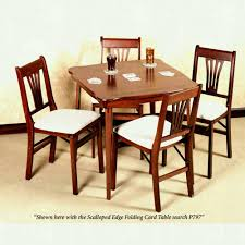 Charming Folding Card Table And Chairs Pretty Wood Set ... 7 Best Folding Card Tables 2017 Chair Long Table And Padded Chairs Cosco 5 Piece Set 5pc Xl Series And Ultra Thick Black White Plastic Large Black Card Table Sim Smatch Wikipedia 1950s Four Kids Colorful Vintage Metal Of 2 Brown Creme Vinyl Retro Mid Century Extra Seating Kitchen Ding Fniture Charming Pretty Wood