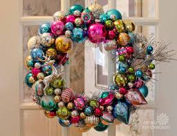 Ornament Wreaths Made From New Christmas Ornaments I Shop Target Big Lots Michaels And K Mart Make Two