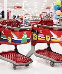 Halloween Contact Lenses Target by Target Shopping Cart Mario Kart Nintendo Switch Release
