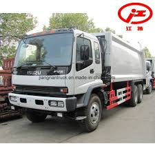100 20 Trucks China Cubic Meters Isuzu Garbage Compactor For Sale