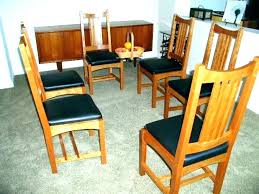 Mission Style Dining Room Set Arts And Crafts Furniture Table