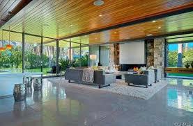 100 Flintstone House Dick Clark Inside Leonardo DiCaprios Palm Springs Home Photos ABC News