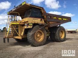 100 End Dump Truck Used 2005 Caterpillar 777D Haul In YATALA QLD Price 230000