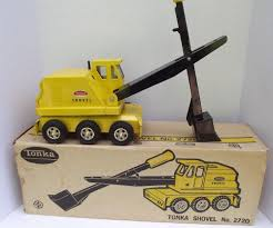 Vintage Tonka Shovel No 2720 Pressed Steel Truck With Original Box ...