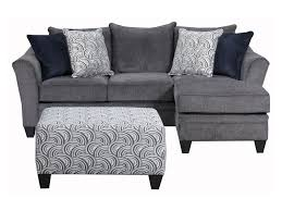 Milari Sofa Living Spaces by Simmons Upholstery 6485 Transitional Sofa Chaise With Wood Legs