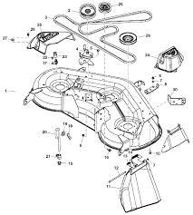 John Deere 48c Mower Deck Manual by John Deere X165 Garden Tractor Spare Parts