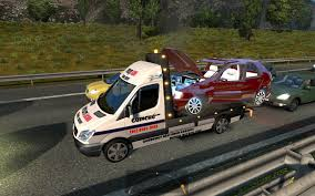 100 Tow Truck Simulator Spec Vehicles In Traffic Trucks For 124 ETS2 Mods