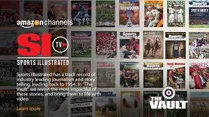 amazon si e inc launches sports illustrated branded svod on amazon