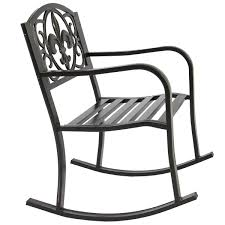 Metal Outdoor Rocking Chair Seat W/ Scroll Design, Blackened Bronze Finish Terese Woven Rope Rocking Chair Cape Craftsman 43 In Atete 2seat Metal Outdoor Bench Garden Vinteriorco Details About Cushioned Patio Glider Loveseat Rocker Seat Fredericia J16 Oak Soaped Nature Walker Edison Fniture Llc Modern Rattan Light Browngrey Texas Virco Zuma Arm Chairs 15h Mid Century Thonet Style Gold Black Palm Harbor Wicker Mrsapocom Paon Chair Bamboo By Houe