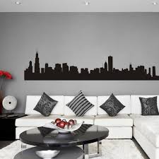 Wall Mural Decals Amazon by Amazon Com Vinyl Chicago Wall Decal Chicago City Wall Decor