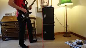 2x10 Bass Cabinet Shootout by Peavey Minimax Amplifier With A Pair Of Headliner 2x10s Rig