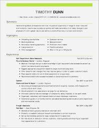 Sample Resume Transportation Supervisor Lovely For Restaurant New Unique Examples Jpg 2550x3300