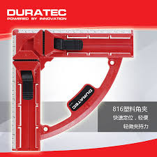 United States DURA Fast Woodworking Corner Clamps Right Angle Clamp 90 Degree Ruler Quick Frame Clip