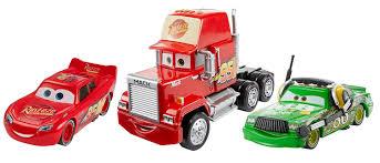 Disney Pixar Cars 3 Diecast Racing 3-Pack - Lightning McQueen, Mack ...