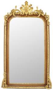 casa padrino barock spiegel braun gold 85 x h 160 cm prunkvoller wandspiegel im barockstil antik stil garderoben spiegel wohnzimmer spiegel