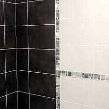 Bathroom Wall Tile Material by 40x25 Flor Grafito Tile Choice