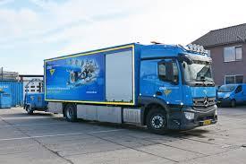 100 Mercedes Box Truck GMB Benz Actros StreamSpace 4x2 With Drawbar