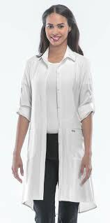 infinity certainty women u0027s 40 u201d lab coat 1401a cherokee