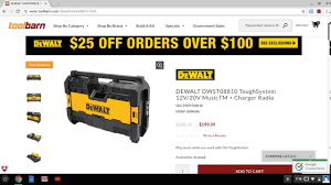 EXCLUSIVE !!!DeWalt Tough System 12/20v Music TM & Charger ... Old Barn Tools Stock Photo Image Of Poles Blades Handles 72274158 Toolbarn Banter Toolbarncoms Official Blog Milwaukee Plumbing Power Toolbarncom Makita Combo Kits Cordless Reciprocating Saws Press Irwin Tools 55 Youtube Pssure Washer Surface Cleaners Hitachi Air Screws Nails Primitive Galvanized Vtg Metal Rustic Pail Bucket Laundry Garden Antique Oak 7 Drawer Machinist Tool Box Chest Circa 1930 W Key Grinders Cutoff